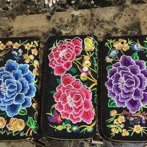 Authentic Artisan Chiapas Mexico Wallets
